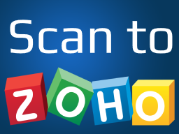 Logo Scan to Zoho